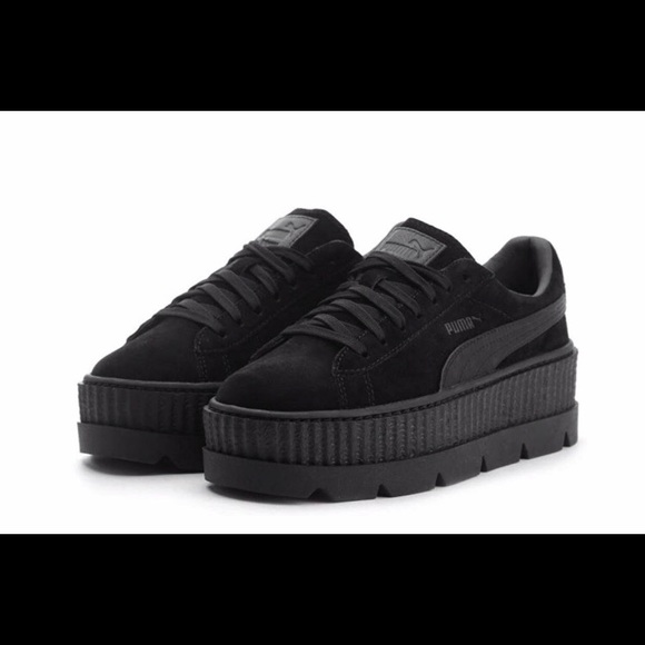 85ab210ae7 FENTY by Rihanna- Suede Cleated Creeper Women's. M_5caf45826a7fba98d9946ca6